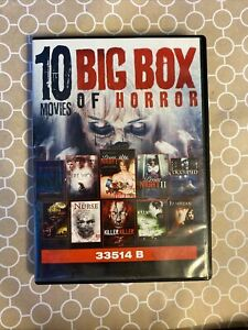Box Of Horror Movies DVD (1 Disc Missing Other Disc )