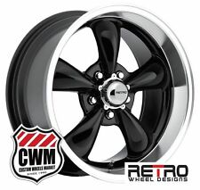 "18 inch 18x8"" / 18x9"" Gloss Black Wheels Rims for Chevy Camaro 1967-1981"