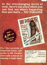 David Lee Roth Magazine Pinup Van Halen Hit Parader 80s
