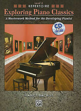 Explorando Piano Classics repertorio, BK 4: un método obra maestra. Bachus, Alfred