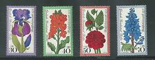 WEST BERLIN # 9NB128-131 MNH FLOWERS 1976
