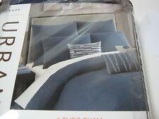 New Urban Livesmart Studio 3B Haze Euro European Pillow Sham ~ Navy Nip