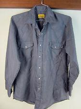 Chute #1 Western shirt pearl snap stripe rodeo cowboy retro vintage rockabilly
