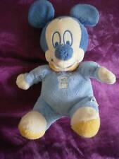 DOUDOU MICKEY DISNEY baby BLEU 26CM
