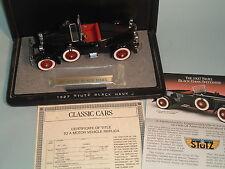 1927 STUTZ BLACK HAWK SPEEDSTER BLACK DANBURY MINT 1:24 DIECAST & DISPLAY CASE