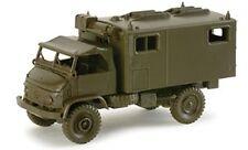Roco Herpa Minitanks HO 1/87 Unimog 404 Mobile Communications Truck 242