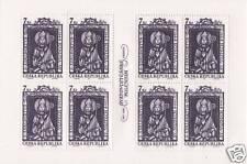 1997 Sant'Adalberto - Repubblica Ceca - minifoglio