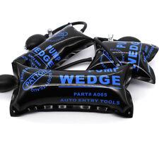 3x Inflatable Air Pump Wedge Air Bag Entry Shim Car Door Window Opener Hand Tool