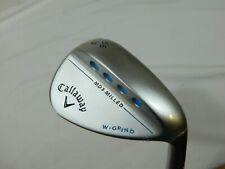 New Callaway MD3 Satin Chrome 56.12 W Grind Sand Wedge SW Womens Graphite Ladies