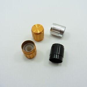 Aluminum Volume Control Knob 15mm Potentiometer 6mm Rotary Shaft Volume