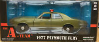GREENLIGHT 84103 PLYMOUTH FURY US ARMY POLICE from THE A TEAM series 1:24