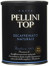 Caffè Pellini Top Arabica 100% Decaffeinato Naturale - 250 gr