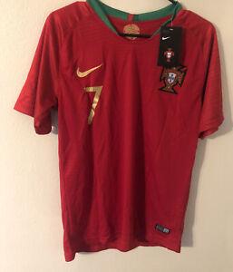 Nike Portugal Jersey #7 N.Rivera Jersey Authentic 2018 Men's Size Medium