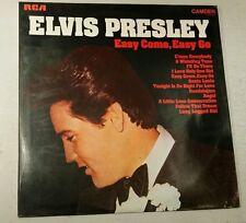 ELVIS PRESLEY L.P 'EASY COME, EASY GO' RCA/ CAMDEN LABEL  CAT.No. CDS 1146