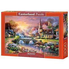 Castorland Jigsaw 3000pc -peaceful Reflections - Peaceful Puzzle 3000piece