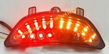 Yamaha VMAX 1700 Integrated LED Taillight; Brake and Turns w/ Clear Lens