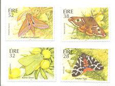 Ireland-moths set of 4 mnh