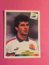 FRANCE 98 PANINI World Cup Panini 1998 - Kostadinov Bulgaria N.296