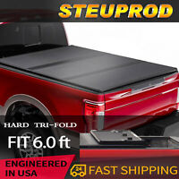 Hard Tri-Fold Tonneau Cover For Ford Ranger 6ft Bed 2019-2021