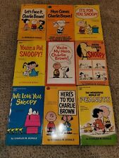 New ListingLot Of 19 Peanuts By. Charles M. Schulz Books (M43)
