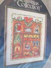 Shadow Box Christmas Collection Crewel Embroidery Kit #6280 Paragon-16x20 Inches