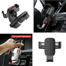 360° Rotation Gravity Car CD Slot Phone GPS Holder Stand Bracket Aluminum + ABS
