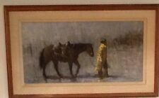 "Richard D. Thomas original oil painting ""When Work is Wet"""