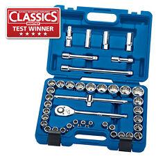 """Draper Expert® HI-TORQ® 41 Piece 1/2""""dr. Metric 8 - 32mm Socket Set 24309"""