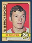 JIM RUTHERFORD RC 72-73 TOPPS 1972-73 NO 97 NRMINT+