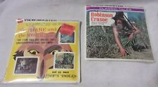 Robinson Crusoe & The Hare and the Tortoise Viewmaster Reels  Sealed!    T*