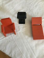 Vintage Fisher Price Dollhouse Furniture Outdoor Patio Set Chairs And Grill