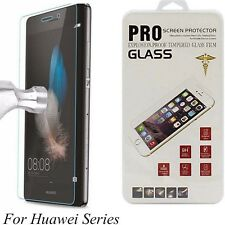 2X Real Tempered Glass Film Screen Protector For Huawei P8/P9/ P10 Plus/ Lite