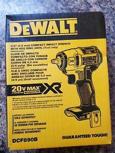 "Dewalt DCF890B 20V Max XR 3/8"" Compact Impact Wrench (Bare)"