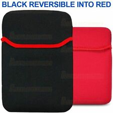 Black Reversible Neoprene Carry Pouch Sleeve Case Amazon Kindle Touch 6'' WiFi