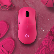 Logitech Pixel Pink G Pro Wireless Limited Edition Mouse Brand New