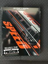 Speed Blu-Ray Digital HD Steelbook Sealed New Mint Keanu Reeves Movie Money