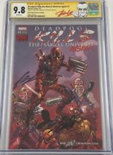 Deadpool Kills The Marvel Universe Again #1 Signed Stan Lee & Liefeld CGC 9.8 SS