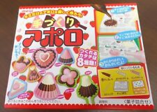 DIY Apollo chocolate making kit Meiji Japanese candy snack sweets F/S from JAPAN