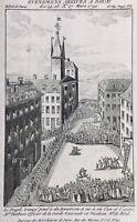 Douai en 1791 Pendaison de Derbaix Nicolson et M de Bled Révolution Française