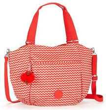 Kipling GWENDOLYN CHEVRON RED Large Shoulder Bag Handbag BNWT