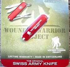 Victorinox Classic Sd Red Wounded Warrier Project Original Swiss Army Knife New