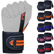 Mytra Fusion Elasticated Wrist Wraps with Thumb Loop SP1 for Training Workout