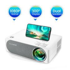 V630 1080P Smart Projector 3D LED 4K Heimkino Beamer Multimedia 7000LM HDMI USB