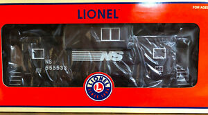 LIONEL NS NORFOLK SOUTHERN EXTENDED VISION CABOOSE LIGHTING SMOKE NEW MIB O W/V