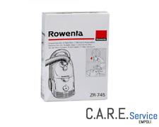 Sacchetti Rowenta serie Dymbo  *ORIGINALI* ZR745 6 SACCHI + 1 MICROFILTRO RS007