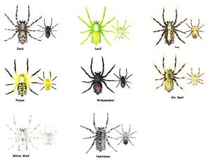 "Lunkerhunt 2 1/4"" 1/2 oz. Phantom Spider - Choice of Colors"
