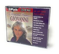 The Romantic Piano Of Giovanni 36 All-Time Favorites (CD 2002) 3 CD Set