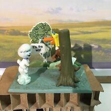 Hanna e Barbera Mildew Wolf  Figure Vignette Vignetta Diorama Gashapon