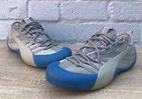 Puma Klim Suede Blue Grey Climbing Shoe Trainers Uk Size 6