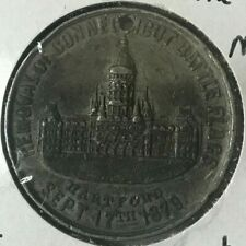 1879 Removal of Battle Flags in Connecticut Medal